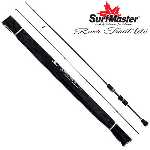 SurfMaster River Trout Lite 180cm 0,2g-4g Ul Rute 76g